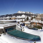 Hotel Jungbrunn Totale Winter Bild