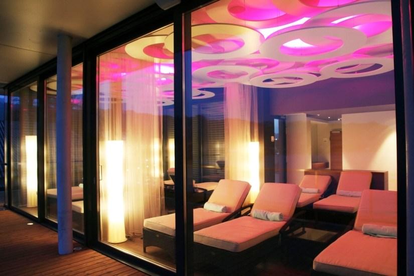 Hotel Seewirt Ruheraum der Saunaanlage