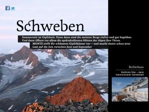 MONTE iPad-Magazin: Insidertipps Hütten