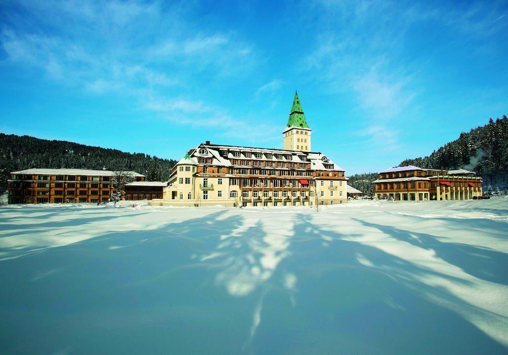 Schloss Elmau Aussenansicht