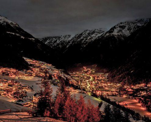 Bergland Sölden Luftbild
