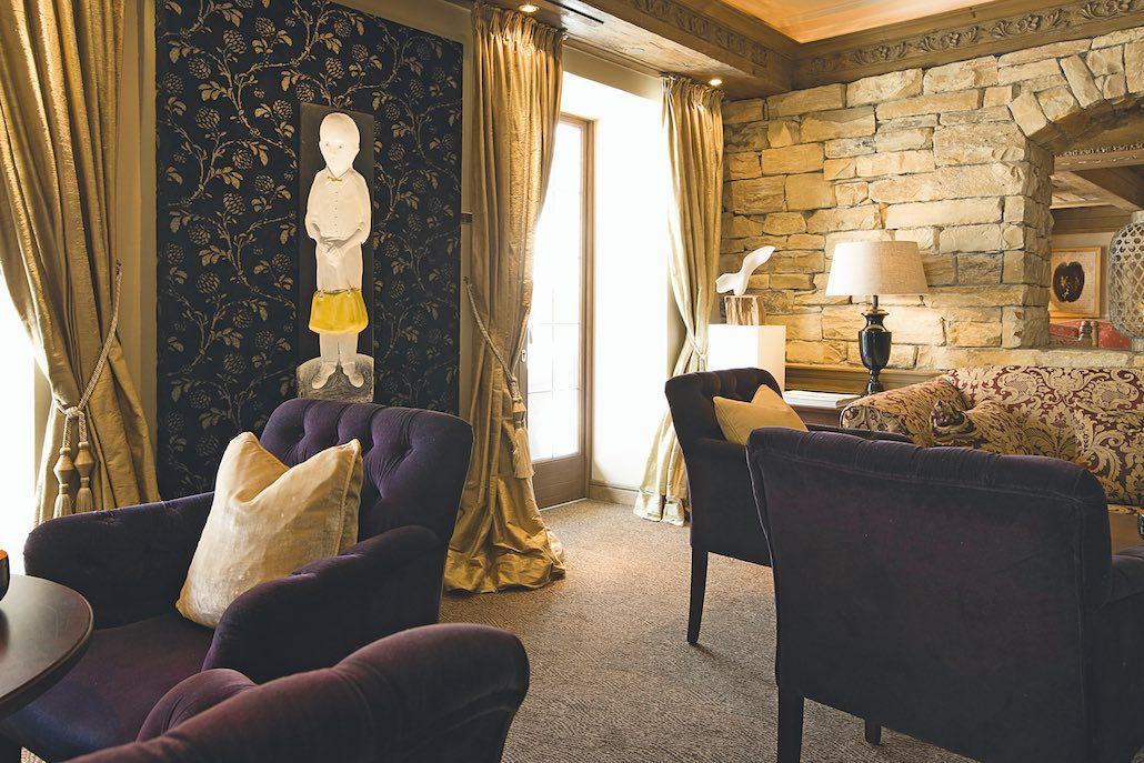 Der Berghof Lech Lounge