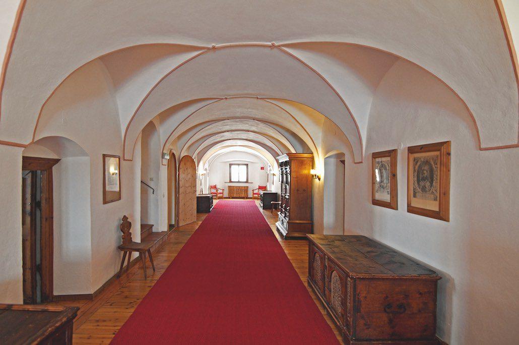 Jagdschloss Kühtai Gang