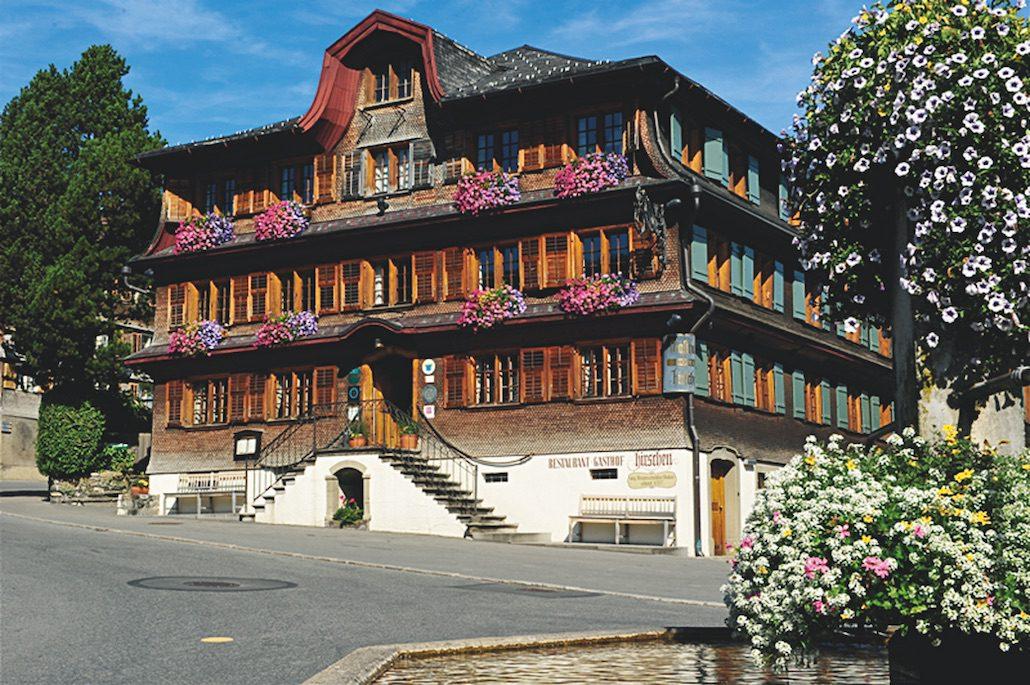 Hirschen Schwarzenberg Aussenansicht