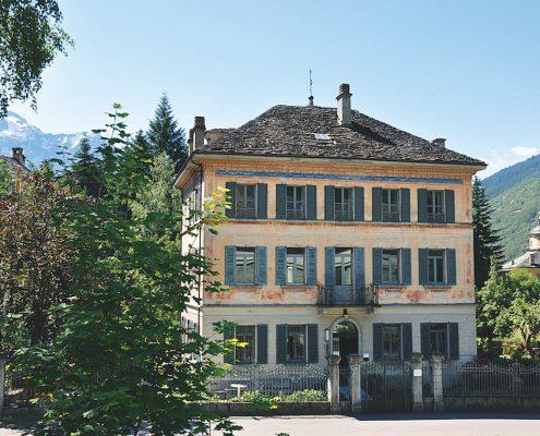 Casa Lucomagno, Olivone
