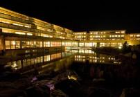 Hotel Arosea bei Nacht Bild