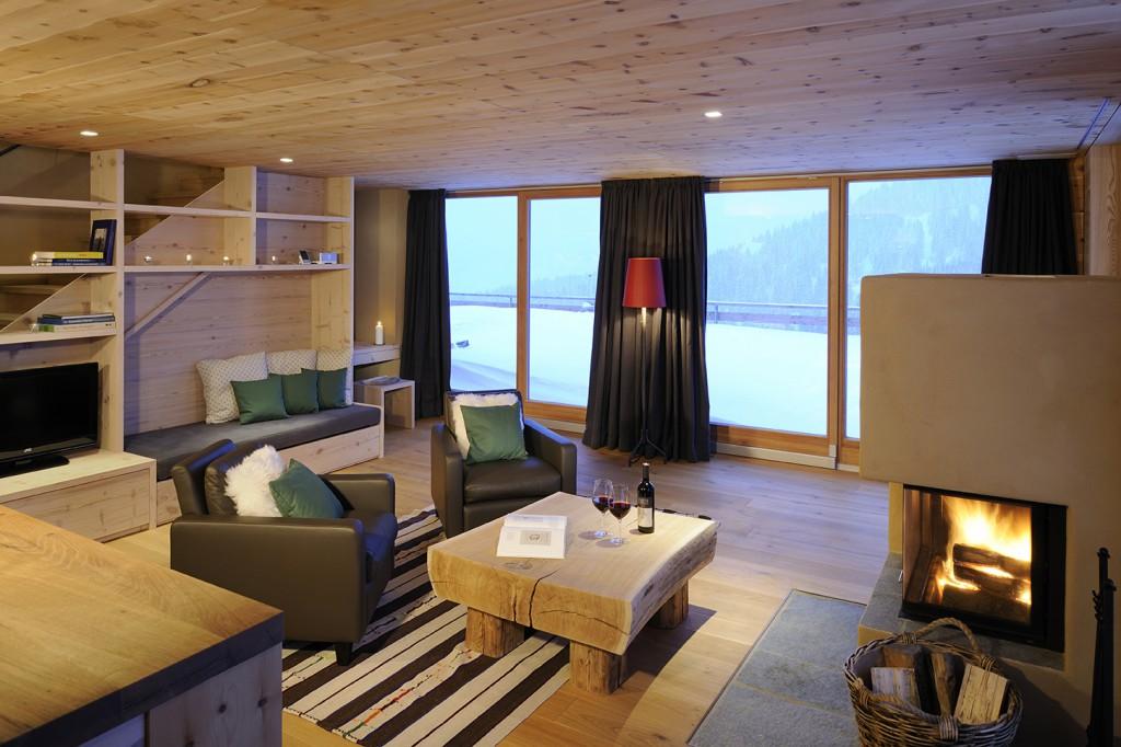 Berglodge luxus-appartment Bild