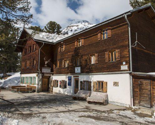 Gepatschhaus Kaunertal Aussenansicht