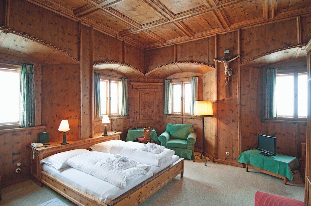 Jagdschloss Kühtai Zimmer