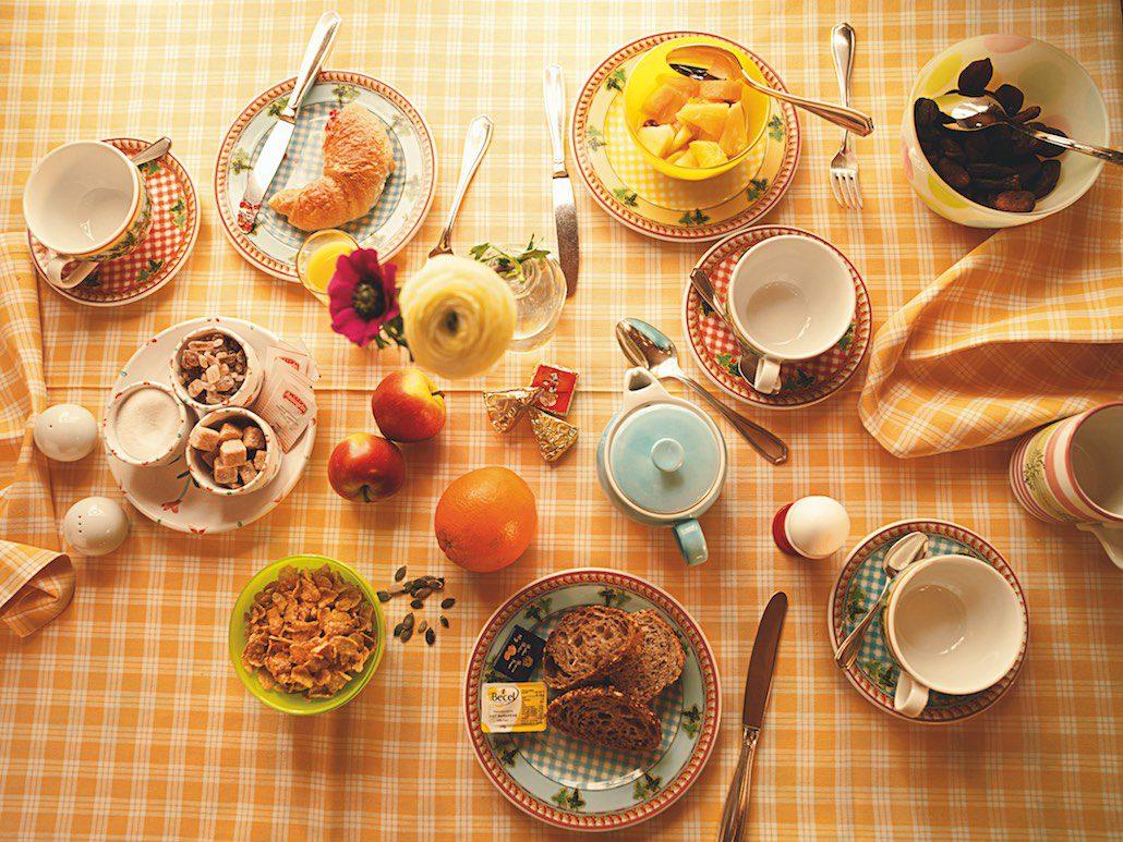 Knappeboda Lech Frühstück