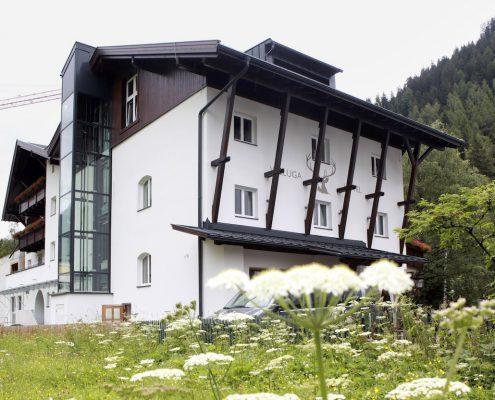 Valluga St.Anton Aussenansicht