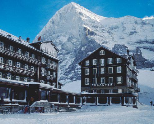 Bellevue des Alpes, Kleine Scheidegg